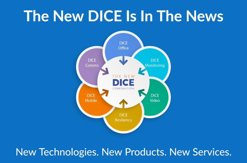 Branded as The NEW DICE Rebranding Initiative